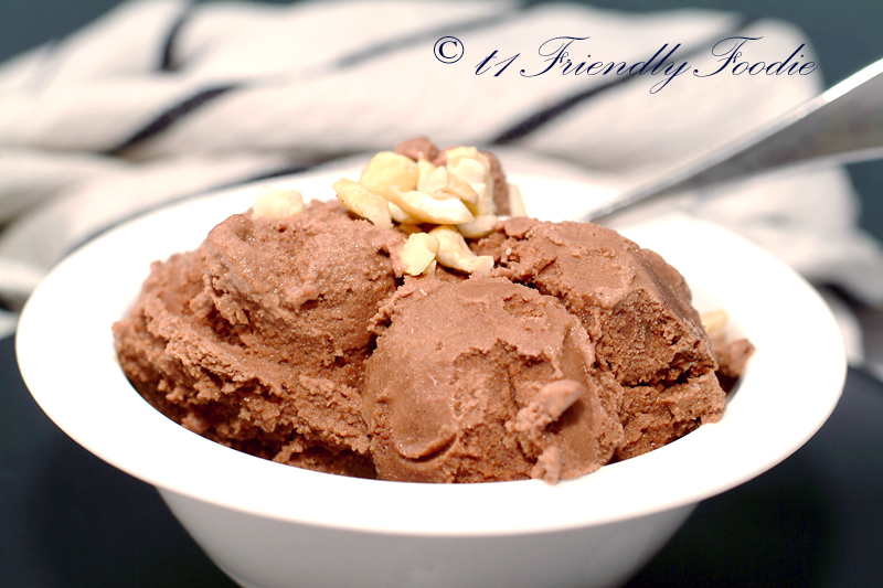 Diabetic friendly Chocolate Ice Cream
