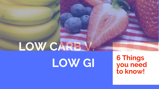 6 things you need to know about low GI foods
