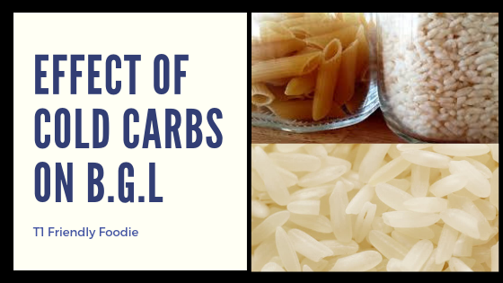 Can eating cold carbs improve your BGL?